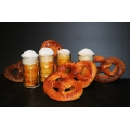 Dekoset Party Oktoberfest Bier & Brezel 9 tlg.