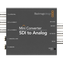 Analog to SDI Converter, blackmagic Design