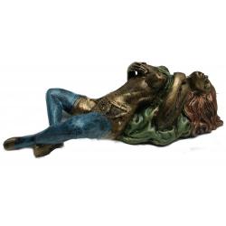Erotikfigur (Bronzefigur) Tisch,- Wanddekoration