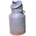 Milchkanne Stahlblech, original, alt