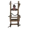 Elektrischer Stuhl,160cm  mit Stroboskoblampe