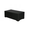 Loungetisch, Sorento,  schwarz, Kunststoffgeflecht,110 x 55 x 40cm