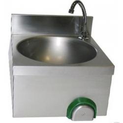 Handwaschbecken, Einzelspüle mit 5l Warmwasserspeicher