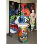 Stellwand Graffiti