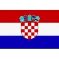 Fahne Kroatien 150 x 90 cm