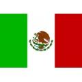 Fahne Mexiko 150x 90 cm