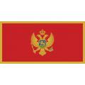 Fahne Montenegro 150 x 90 cm