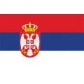 Fahne Serbien  150 x 90 cm