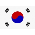 Fahne Südkorea 150 x 90 cm