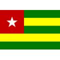 Fahne Togo 150 x 90cm