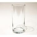 Vase, Glas 13,5 x 6 x 6