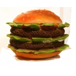 Deko Hamburger ca.50cm GFK