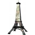 Pariser Deko -Eifelturm , 3D Skulptur 3,26m hoch