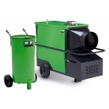 Diesel- Warmluftheizung 70 Kw, inkl. 60l. Tank (ohne Kraftstoffl)