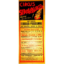 Zirkus-Plakat 1958 (original)