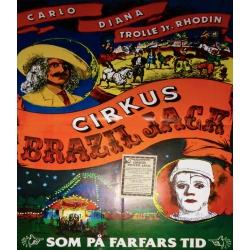 Zirkus-Plakat Schweden (original)