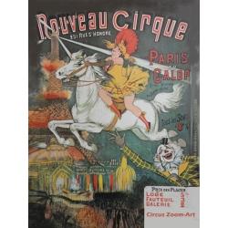 Zirkus-Poster