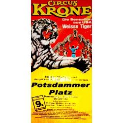 Zirkus-Plakat 1982 (original)