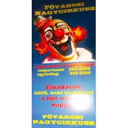 Zirkus-Plakat Budapest (original)