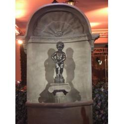 Deko Brunnen (mit Wasserspiel) 220 x 120 cm