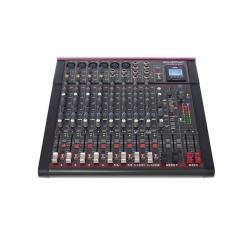 Live- Mischpult 6 Kanal Phonic Phonic Celeus 600 ( mit USB-Player, Blutooth-Funkion und DSP-Effekten)