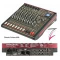 Phonic Celeus 600 Mischpult 6 Kanal,  ( mit USB-Player, Blutooth-Funkion und DSP-Effekten)