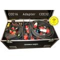 Kabelcase, Kraftstrom CEE, 100-teilig - (DGUV, Vorschrift 3 geprüft)