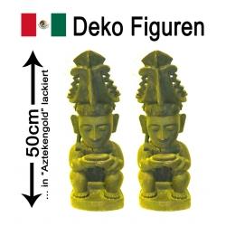 Mexikanische Figur(en) ca. 50cm höhe handgeschnitzt