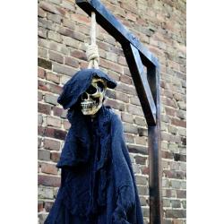 Galgen inkl. Skelett, ca. 220cm hoch