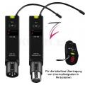 Line fly 16 Sender + Empfänger (PA-Audio-Funk-Übertragungsset)