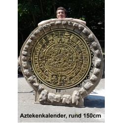 Aztekenkalender XXL-Deko 150cm ,Mexiko-Aztekendeko