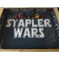 Stapler Wars,(Fun Game) inkl. 2 ferngesteuerter Gabelstapler